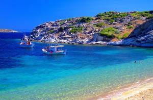 pláž Chalkidiki