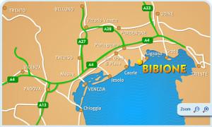 Na dovolenku do Bibione levně