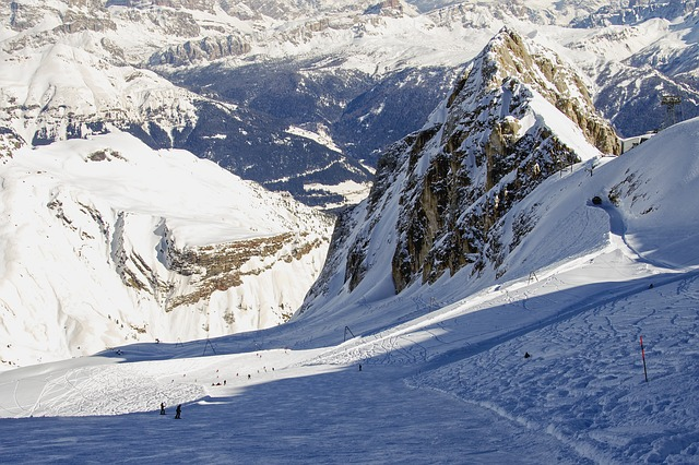Čtyři nejlepší lyžařské areály v Itálii