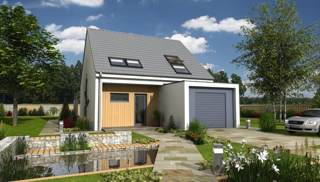 Zděné domy nejsou zdaleka jediným řešením pro rodinný dům