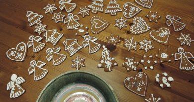 Perníčky – pochoutka i dekorace v jednom