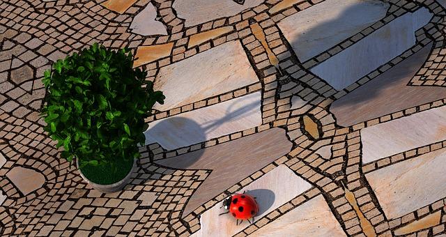 Jak si vytvořit mozaiku na stěnu z keramických obkládaček?