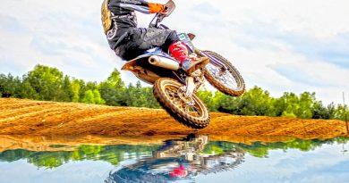 Když začnete jezdit motocross
